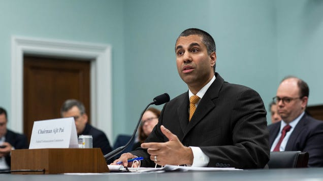 How to Watch Ajit Pai Get Grilled by Congress Over Made-Up FCC Cyberattack