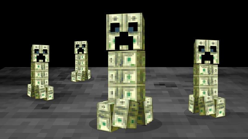 Illustration for article titled Los organizadores de un congreso de Minecraft desaparecen con 500.000$