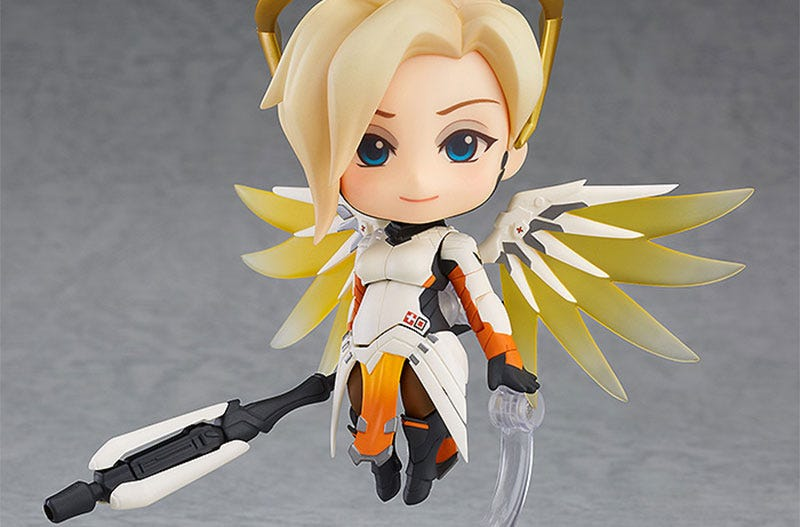 Illustration for article titled Look At This Mercy Figure