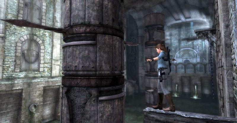 Illustration for article titled Lara Croft Breaks Her Date To Go Beneath The Ashes