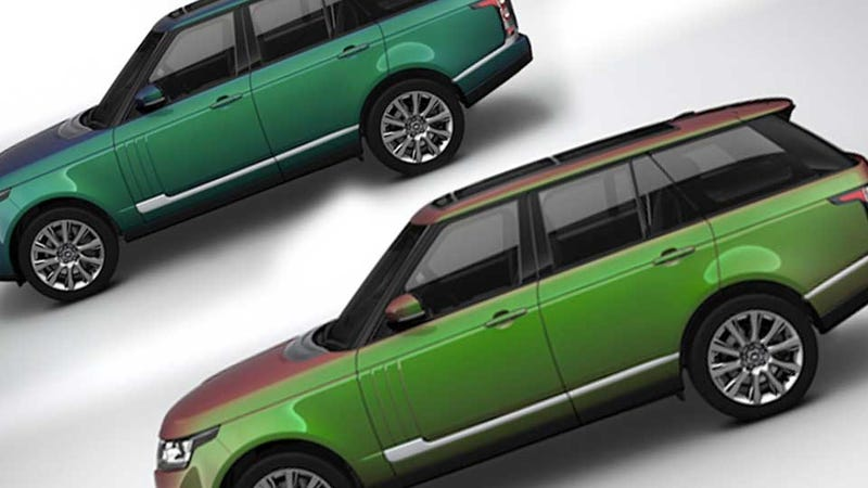new range rover will offer revolutionary spectral colors that we've