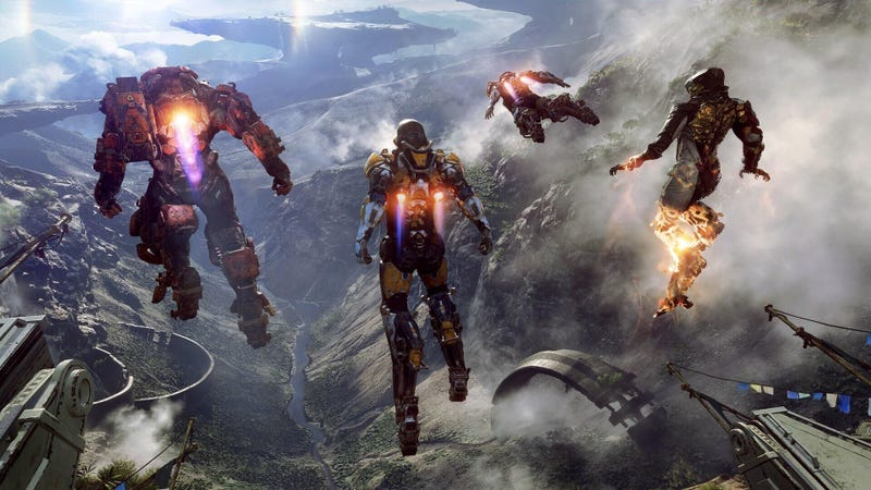 Dragon Age Bioware Video Games Rpg Fantasy Art: BioWare Doubles Down On Anthem As Pressure Mounts