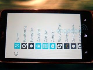 Illustration for article titled Unnamed HTC Smartphone Shown Running Windows Phone 7, Sans Sense UI