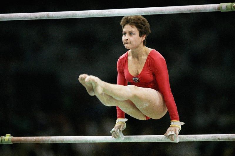 Illustration for article titled 1988 Olympic Gymnastics Champion Yelena Shushunova Dies At 49