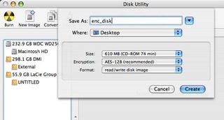 Illustration for article titled How to create a Mac encrypted disk image
