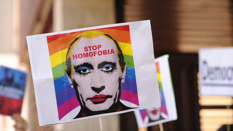 Illustration for article titled Russia Created an Official 'Straight Pride' Flag to Combat 'Gay Fever'