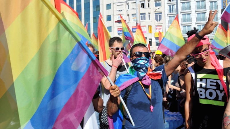 Illustration for article titled Istanbul's Pride March Has Been Banned
