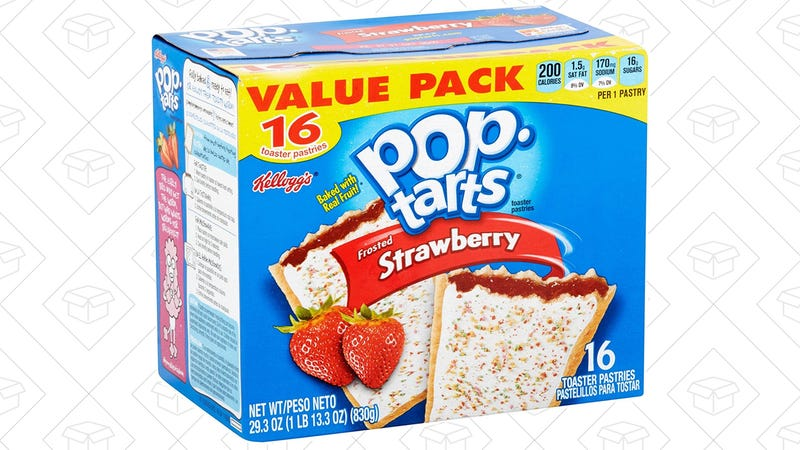 32-Count Strawberry Pop-Tarts, $4 after 25% coupon and Subscribe & Save