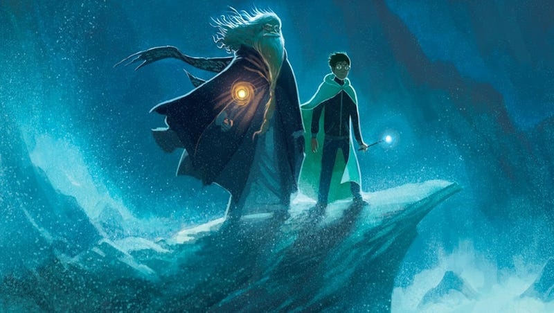 Illustration for article titled Kazu Kibuishi's Awesome Challenge: Creating New Harry Potter Covers