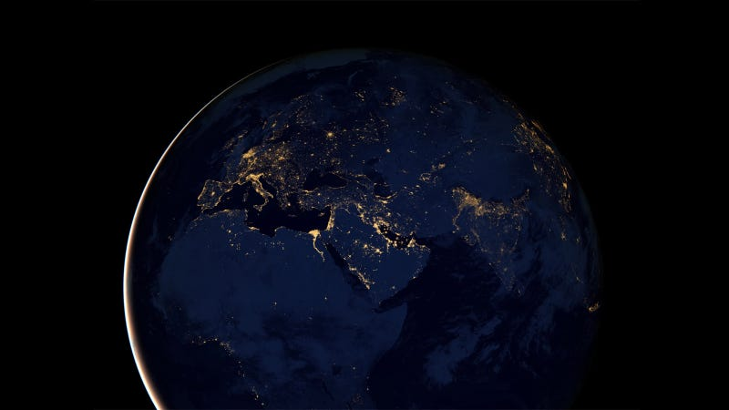 The Most Accurate, Highest Resolution Night Earth View to Date ...