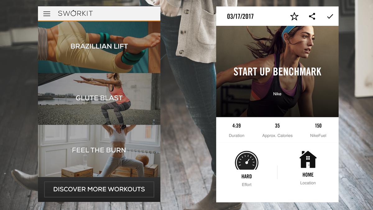 Workout Showdown: Sworkit vs  Nike Training Club