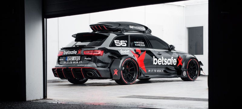 Illustration for article titled Jon Olsson's Crazy Audi RS6 DTM Was Stolen And Burned To The Ground After An Armed Robbery
