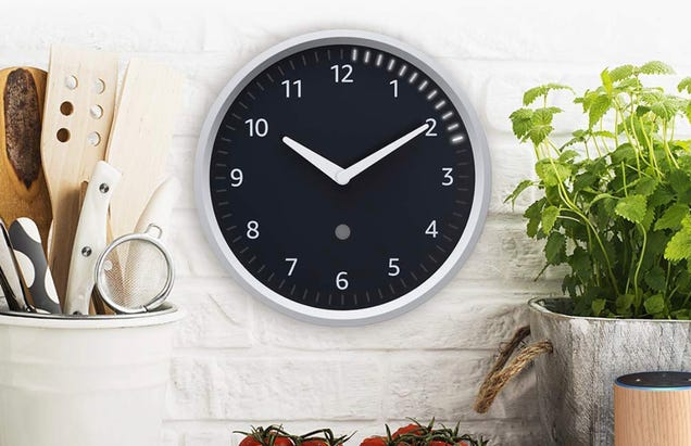 You Can Finally Order Amazon s Clever Echo Wall Clock