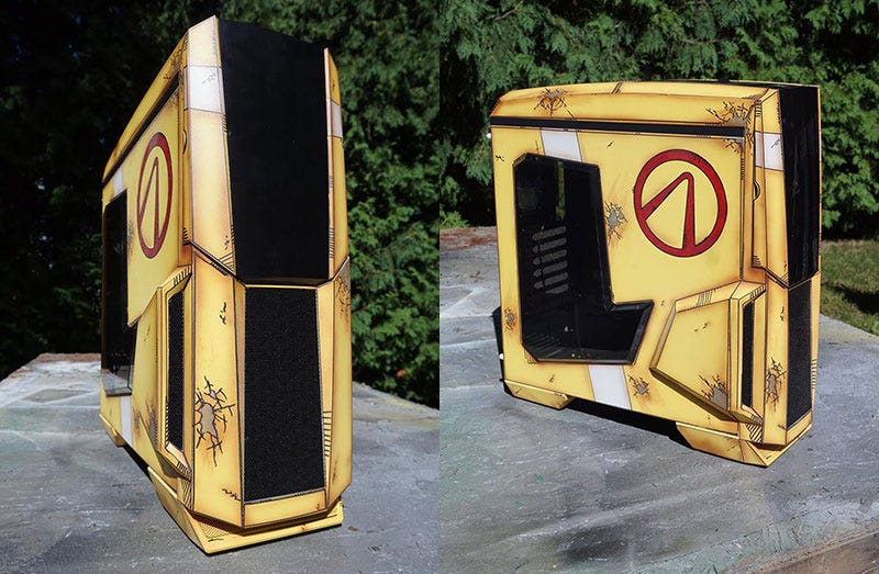 Illustration for article titled Look At This Borderlands PC Case