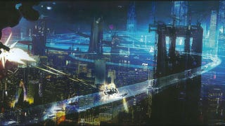 Illustration for article titled Cloud Atlas concept art shows us the Wachowskis' vision of 2144 Seoul