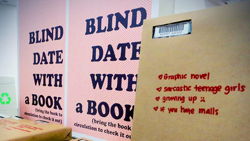 Illustration for article titled Forget Men: Blind Date Books Are Where It's At