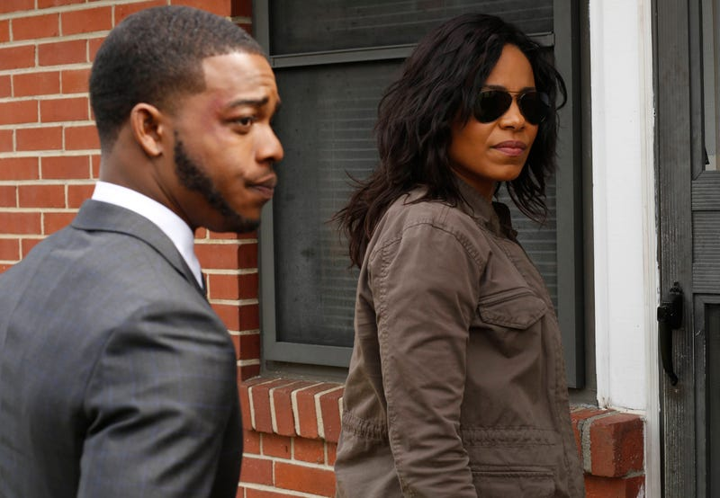 Stephan James and Sanaa Lathan in Shots Fired (Fox)