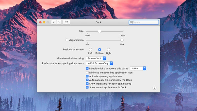 How to Get the Most From Your macOS Dock