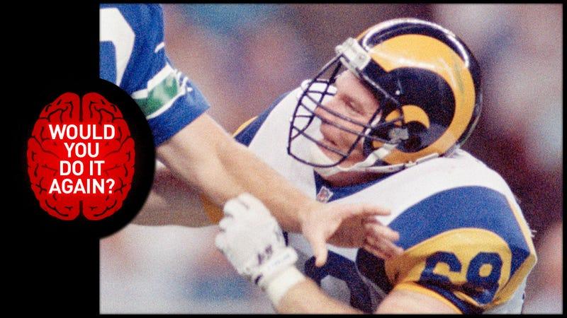 Illustration for article titled Would You Do It Again? We Ask Ex-NFLer Jim Skow