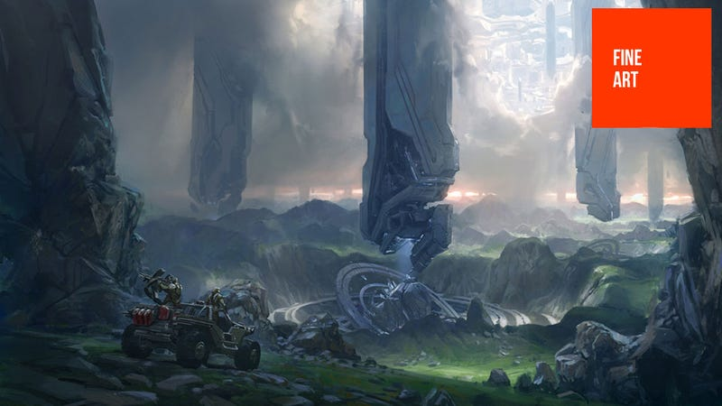 Illustration for article titled The Art (and Guns) of Halo 4