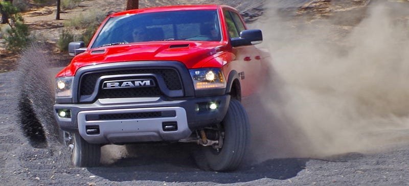 Illustration for article titled First Drive: We Figured Out What The Ram Rebel Is By Trying To Kill It