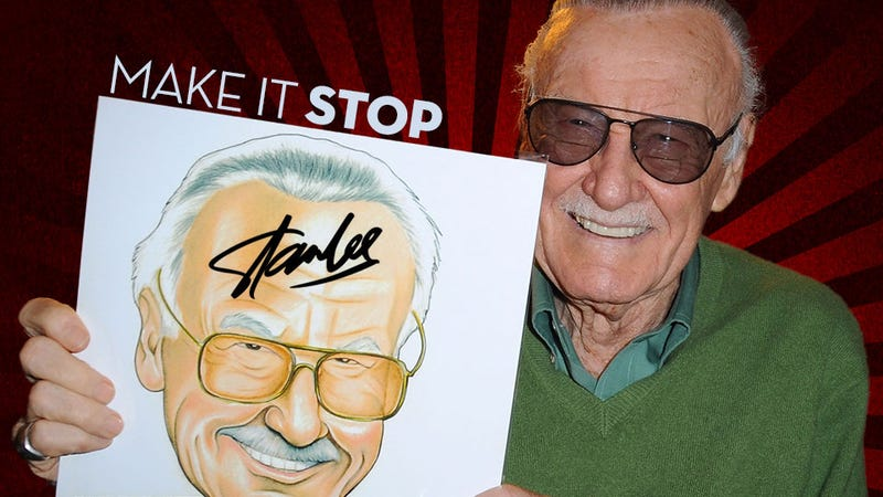 Illustration for article titled Please Stop Putting Stan Lee's Name on Things