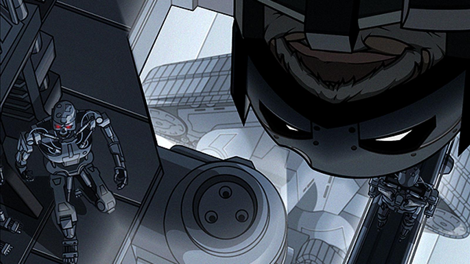 Batman se enfrenta al ejército de Skynet en este espectacular corto