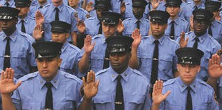 New probationary firefighters are sworn in July 29. (NYC.gov)