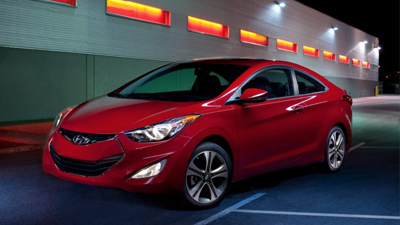 Illustration for article titled 2013 Hyundai Elantra Coupe: Meh