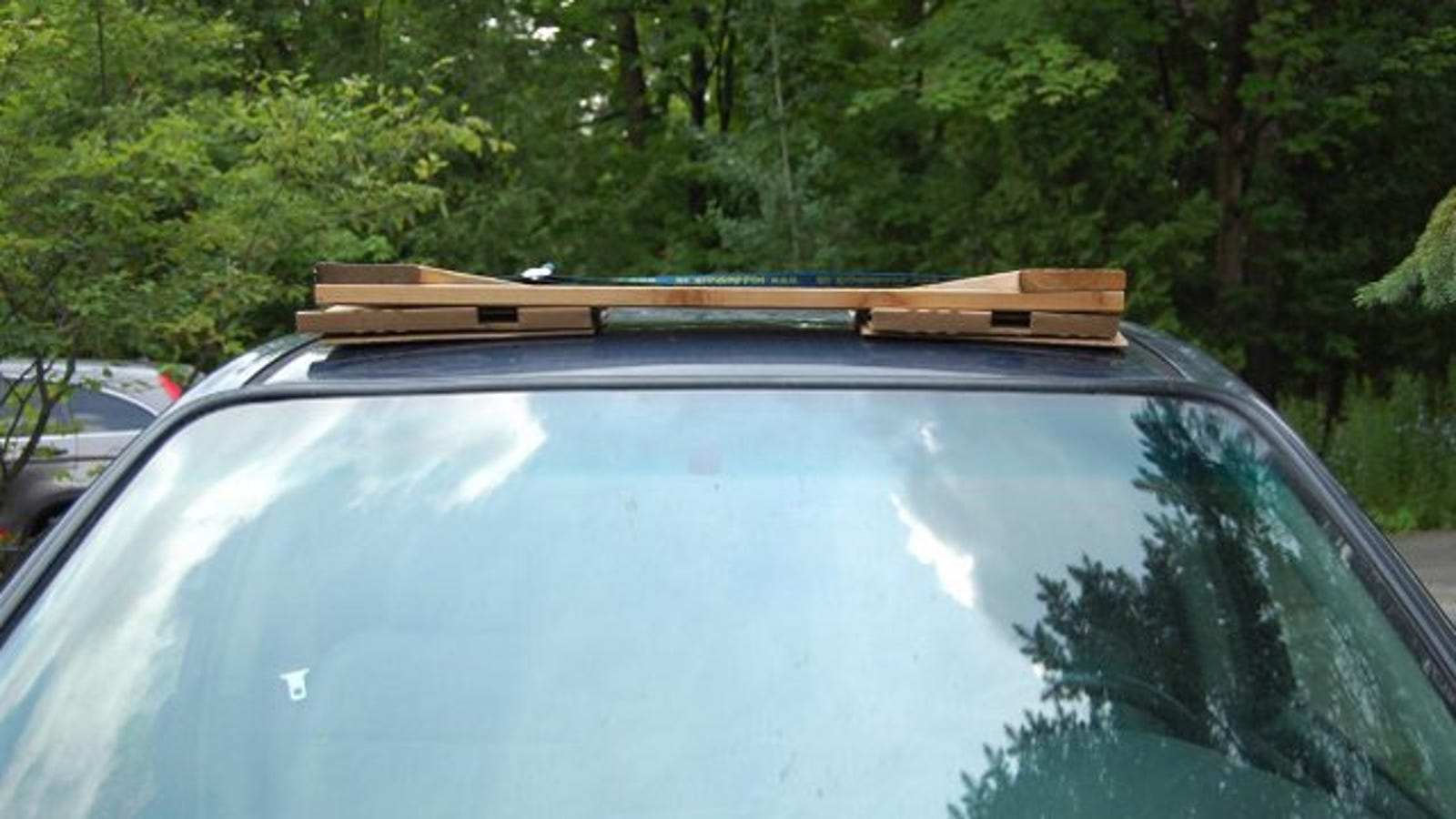 Convert An Automobile Roof Rack To A Building Materials
