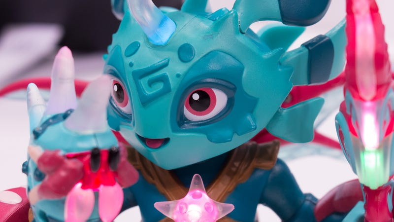 Mari, one of two Lightseekers races available at launch in July.