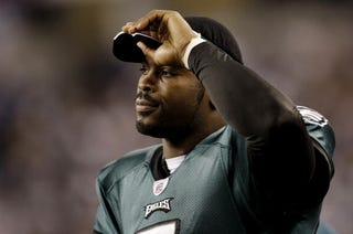 Michael Vick has the support of the president.