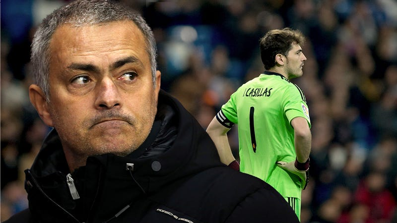The Assassination Of Iker Casillas By The Coward José Mourinho 866706f04