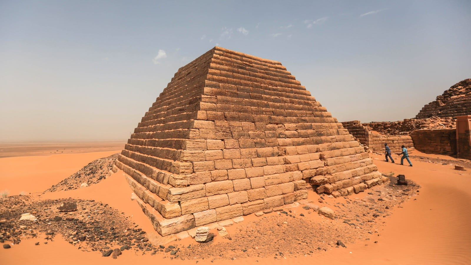 Las pirámides olvidadas de Sudán
