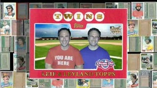 Illustration for article titled Sklar Bros. Give Deadspin Exclusive Look At New Topps Web Series