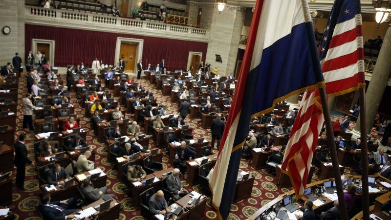 The Missouri House of Representatives. Photo via AP
