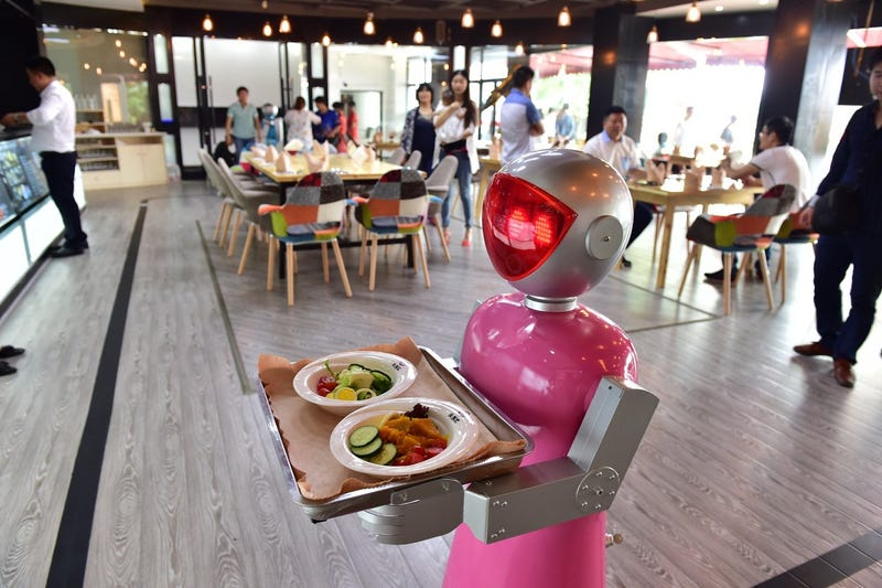 Illustration for article titled Are China's Robot Restaurants a Threat To American National Security?