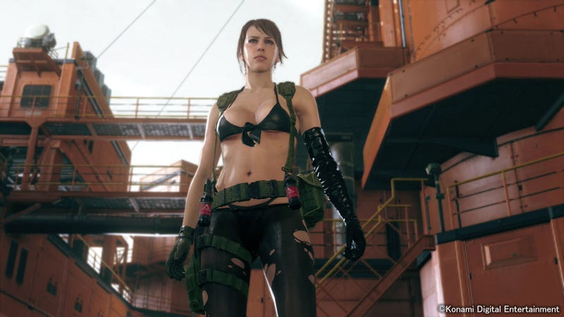 Illustration for article titled Why Quiet Wears That Skimpy Outfit In Metal Gear Solid V