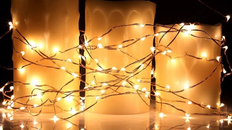 Kohree 40' String Light Set, $9 with code ZZP6GB8P | TaoTronics 33' Remote String Light Set, $14 with code 8IZ7YVHB