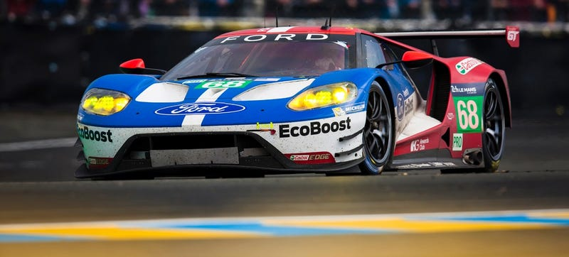 Ford GT Beats Ferrari Again At Le Mans, America Rules