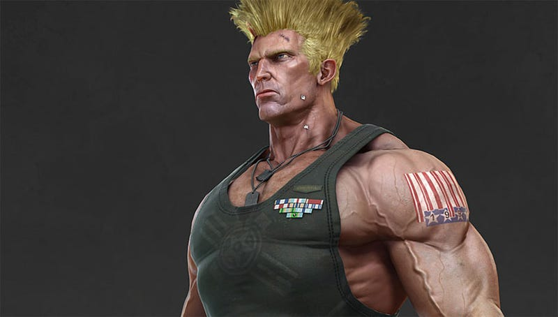 Illustration for article titled What If Street Fighter IV Was Built On The Unreal Engine?
