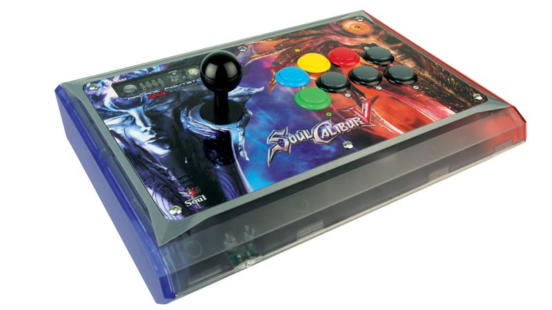 Illustration for article titled Guess Who's Making an Arcade FightStick for Soulcalibur V?