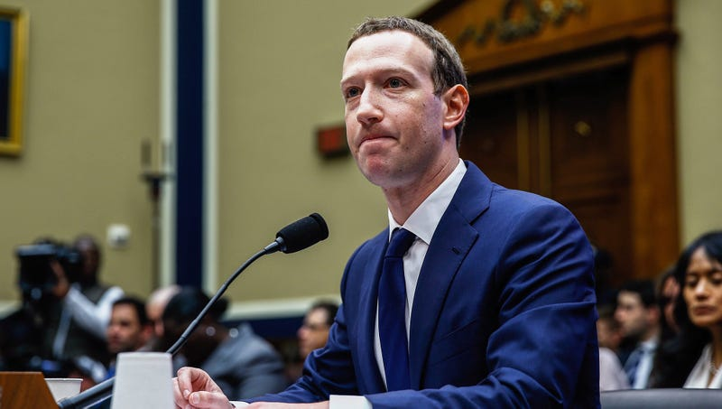 Illustration for article titled Congress Reassures Nervous Zuckerberg They Won't Actually Do Anything About This