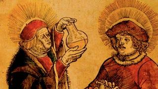 Illustration for article titled Urine flavor wheels helped doctors taste patients' pee centuries ago