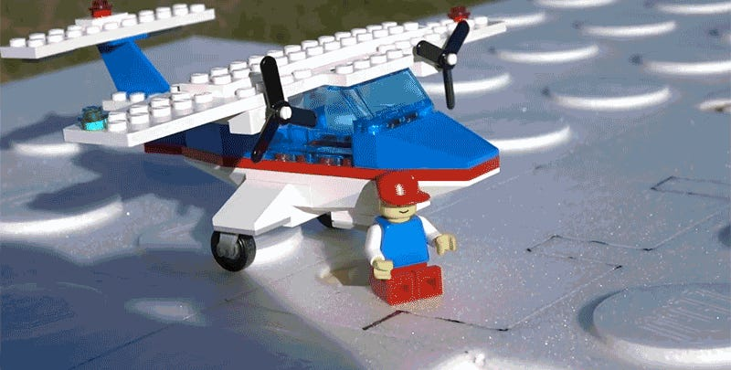 An Aerospace Engineer Turned A Classic Lego Set Into An Rc