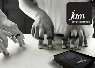 Illustration for article titled Use Your Fingers to Tap Out The Jams