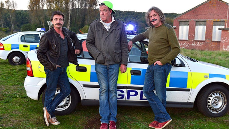 Illustration for article titled Ten Things You Want To See From The Top Gear Trio's New Amazon Show