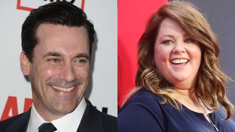 Illustration for article titled The Movie In Which Jon Hamm and Melissa McCarthy Fall in Love Is Dead
