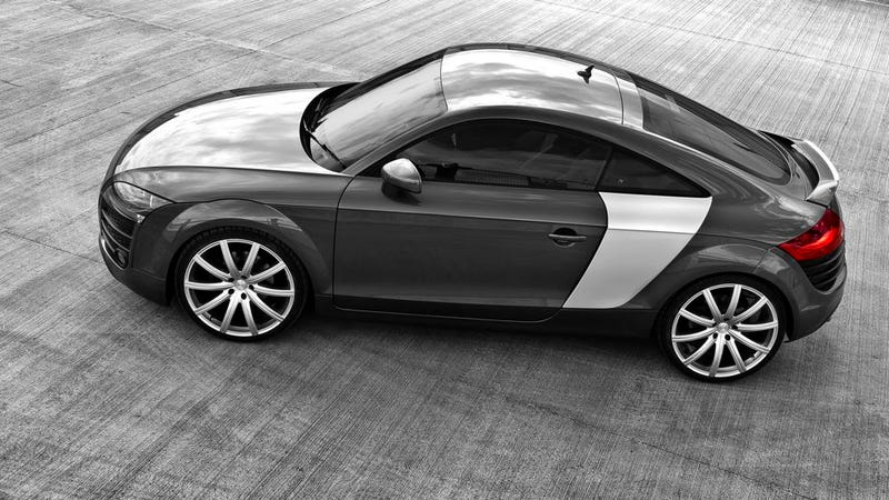 An Audi Tt With Sideblades Still Isn T An R8