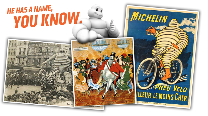 Illustration for article titled It Has Come to My Attention Some of You Still Don't Know the Michelin Man's Christian Name